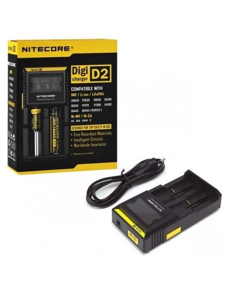 Nitecore D2 Batteri Oplader