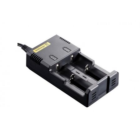 Nitecore I2 batteri oplader