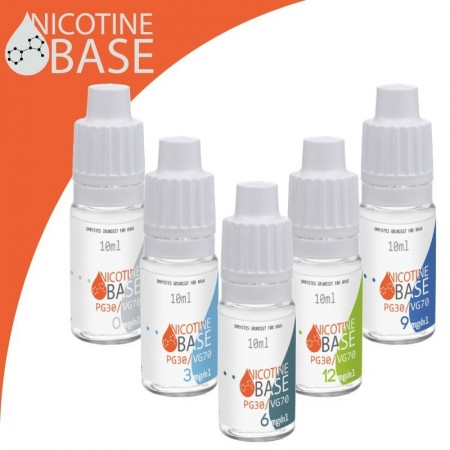 Nikotin Base 10ml PG30 / VG70