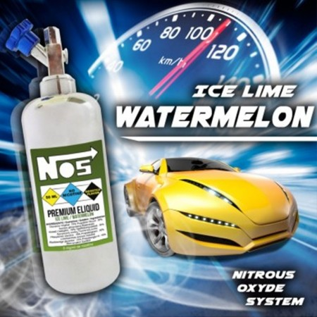 NOS - Ice Lime Watermelon (40ml + 20ml)
