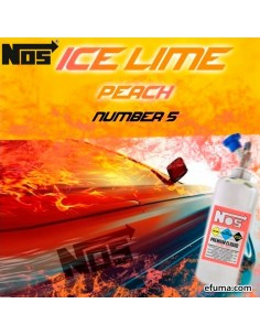 NOS - Ice Lime Peach (40ml + 20ml)