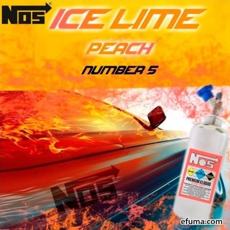 NOS - Ice Lime Peach (40ml + 20ml)
