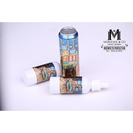Mohawk And Co. Fizzy - Butterscotch Popcorn (55ml + 10ml)