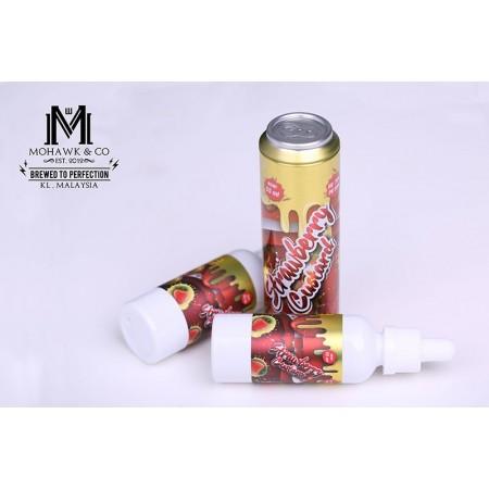 Mohawk And Co. Fizzy - Strawberry Custard (55ml + 10ml)