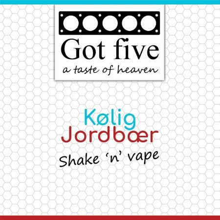 Got five - Kølig Jordbær (20 + 40ml)