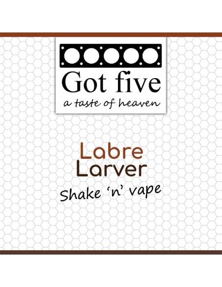 Got five - Labre Larver (20 + 40ml)