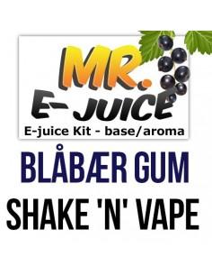 Blåbær Tyggegummi - 60ml