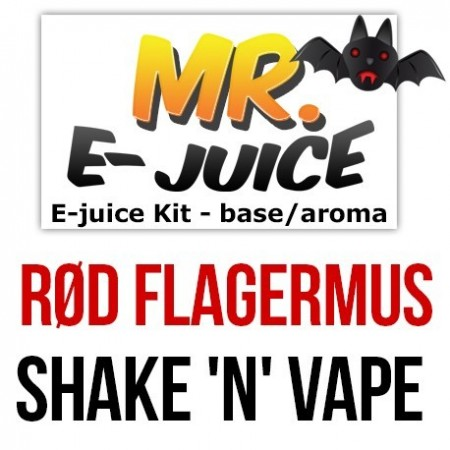 Rød Flagermus - 60ml