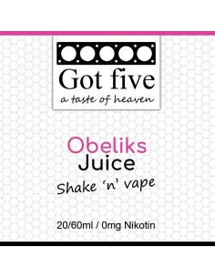Got five - Obeliks Juice (20 + 40ml)